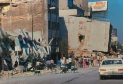 La única foto que pude encontrar del derrumbe. Fuente: Internet